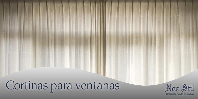Cortinas para ventanas correderas elegant mosquiteras for Ventanas de aluminio con cortina