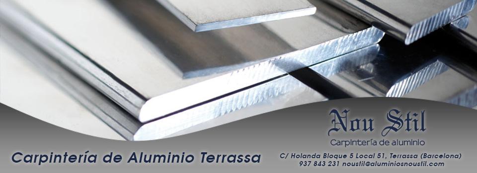 Carpinteria aluminio terrassa aluminios nou stil - Carpinteria de aluminio terrassa ...