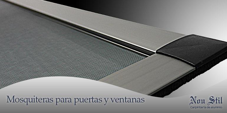 Accesorios aluminios nou stil for Accesorios mosquiteras