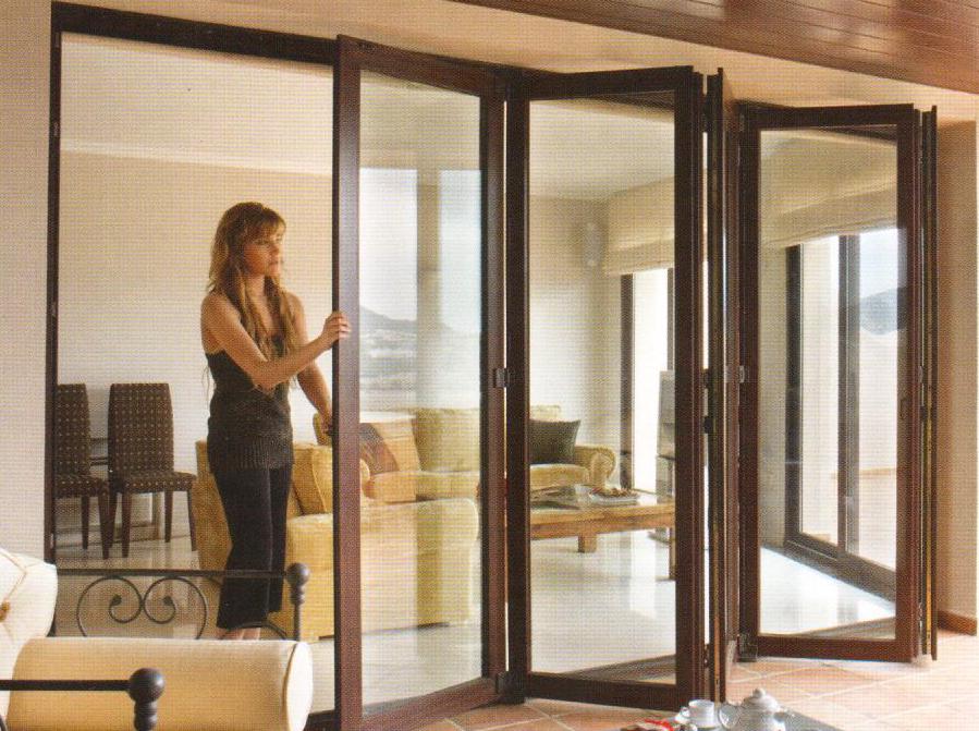 Puerta terraza aluminio top aos with puerta terraza - Puertas de aluminio para terrazas ...