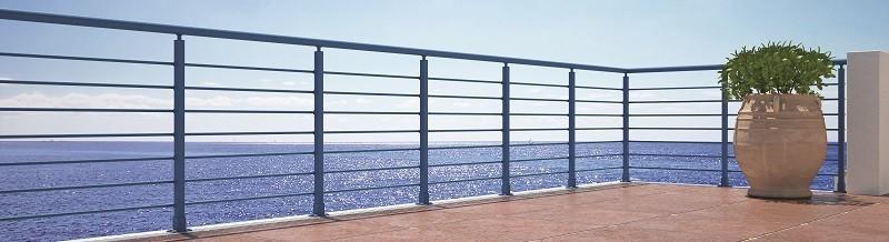 Carpinter a de aluminio terrassa las barandillas - Barandillas de exterior ...