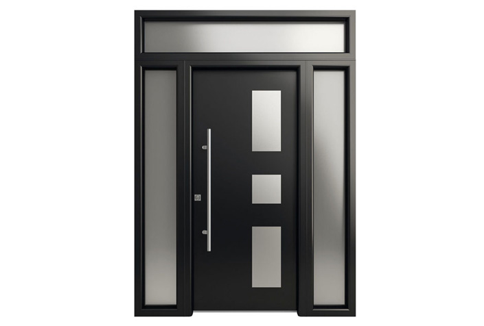 Modelos de puertas metalicas para casas top modelos de for Puertas en aluminio modernas