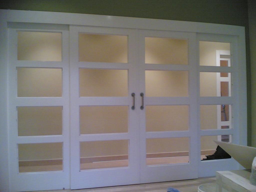 Carpinter a de aluminio puertas de aluminio interiores - Puerta plegable de aluminio ...