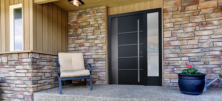 Puertas de aluminio sabadell aluminios nou stil for Puerta entrada aluminio