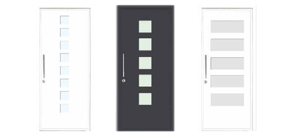 Puerta entrada aluminio sabadell aluminios nou stil for Puerta entrada aluminio