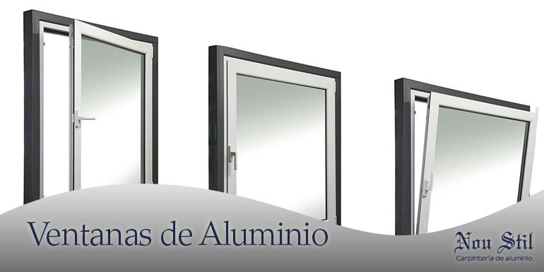 Ventanas aluminio econ micas barcelona aluminios nou stil for Ventanas de aluminio economicas