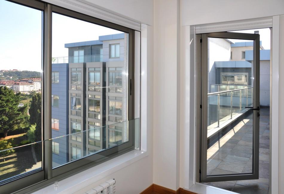 Las puertas de aluminio y sus ventajas aluminios nou stil Puerta balcon aluminio medidas